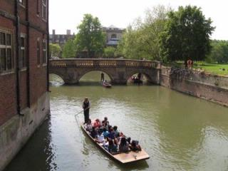 Cambridge Bridge of Sighs from Kings College.