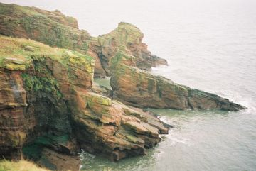 Cliffs near Arbroath.
