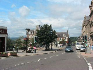 The centre of Crieff