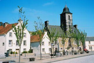Historic buildings at Culross in Fife