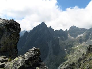 A view of the High Tatras