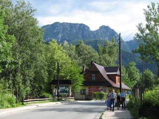 The High Tatras seen from Zakopane
