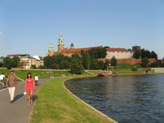Wawel Castle and Cathedral on the banks of the Vistula River, Krakow