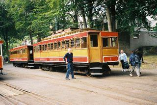 Train at Laxey, Isle of Man