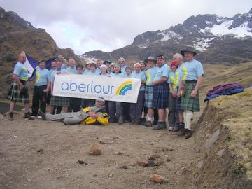Hiking for the Aberlour Trust in Peru
