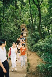 Potential members of Walking Stories in China