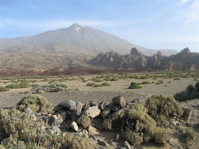 El Teide and the Roques de Garcia, Tenerife