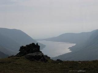 Loch Turret from Ben Chonzie