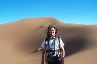 Bill Cook on an expedition to the Sahara