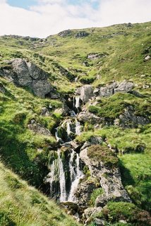 Waterfalls, Corrie Fee, Glen Doll