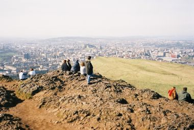 Arthur S Seat Summary Walking Story And The Scottish Parliament